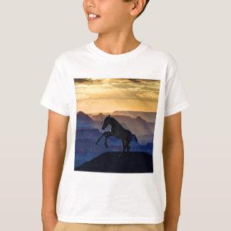 Rearing baby horse and canyons T-Shirt