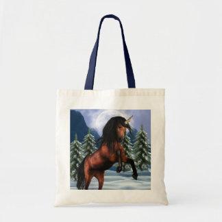 Rearing Chestnut Unicorn  Small Bag