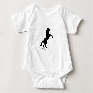 Rearing Horse Baby Bodysuit