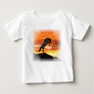 Rearing Horse Baby T-Shirt