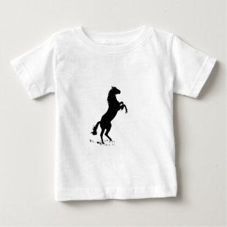Rearing Horse Baby T-Shirt