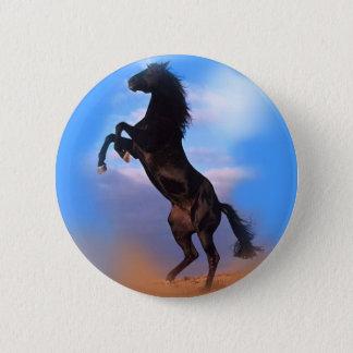 Rearing Horse Button