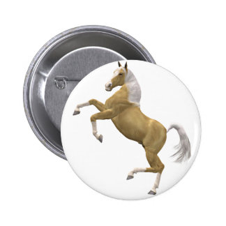 Rearing horse buttons