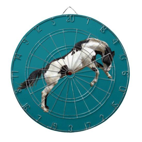 Rearing Horse Dartboard
