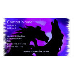 Rearing Horse Design Business Card