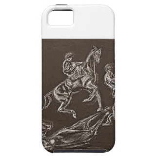 rearing horse drawings by Conway iPhone SE/5/5s Case