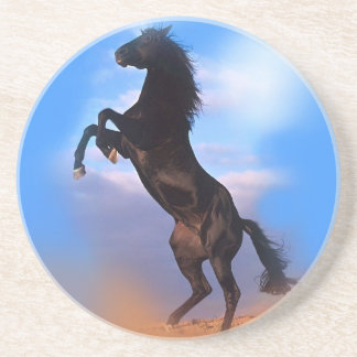 Rearing Horse Drink Coaster