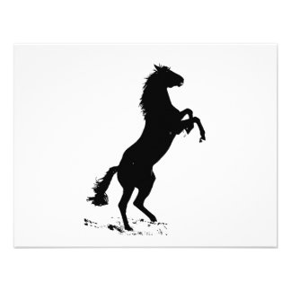 Rearing Horse Personalized Invitations