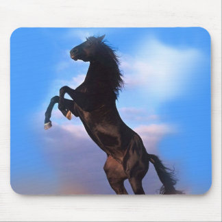 Rearing Horse Mouse Pad