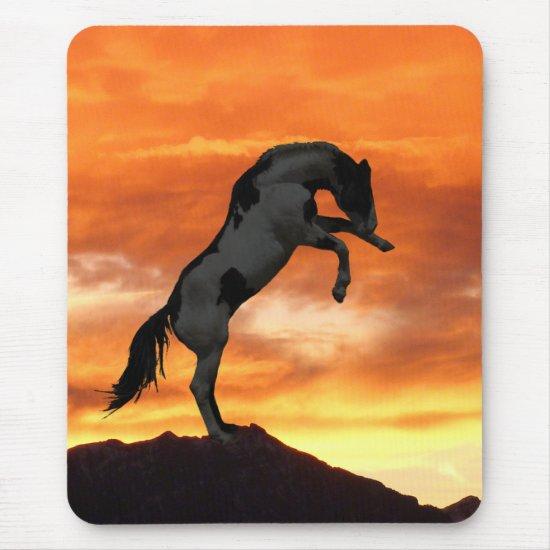 Rearing Horse Mousepad