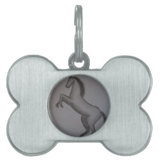 rearing horse pet ID tags