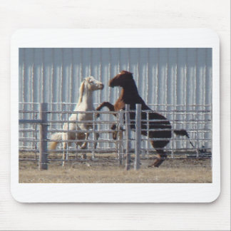 Rearing Horses 3 Mouse Pad