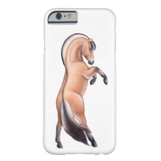 Rearing Norwegian Fjord Horse iPhone 6 Case