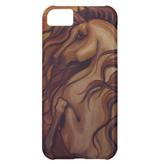 Rearing Spanish Horse Cover For iPhone 5C
