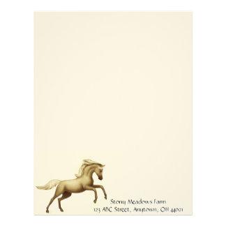 Rearing Stallion Letterhead