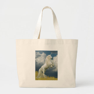 Rearing Unicorn Canvas Bag