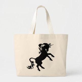 Rearing Unicorn Canvas Bags