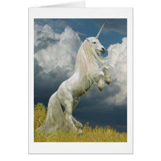Rearing Unicorn Cards