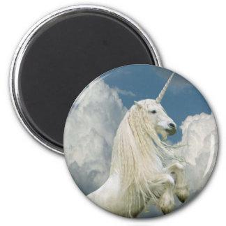 Rearing Unicorn Refrigerator Magnet