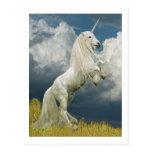 Rearing Unicorn Postcard