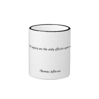 Reason and Free Inquiry Ringer Mug