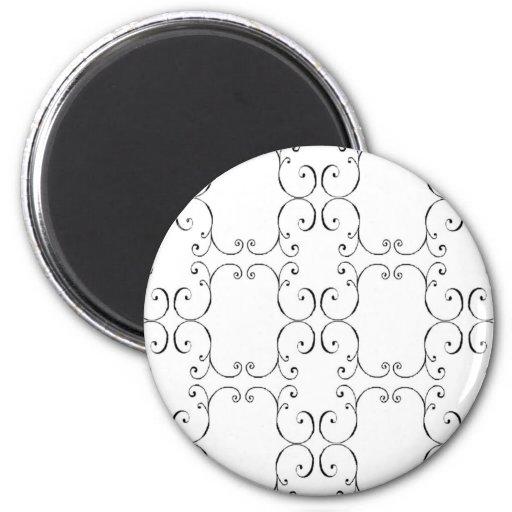 Reason baroque 2 inch round magnet