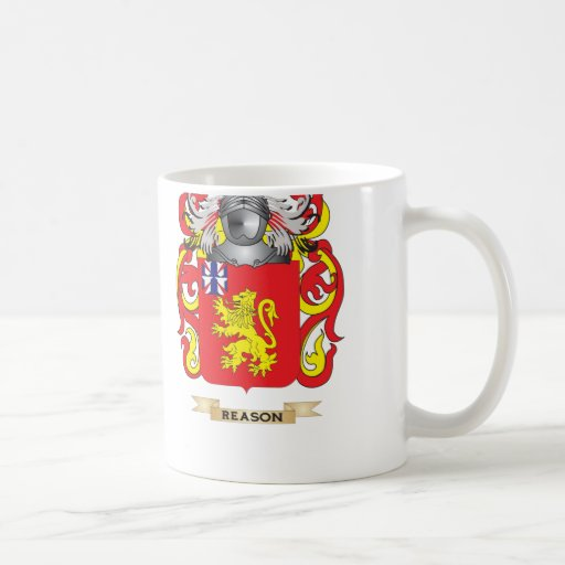 Reason Coat of Arms (Family Crest) Classic White Coffee Mug