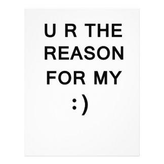 Reason For My Smile Letterhead