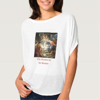 Reason for the Season Christmas Bible Verse T-Shirt