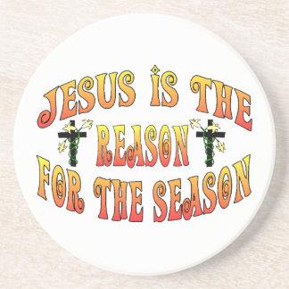 Reason For The Season Easter Coaster