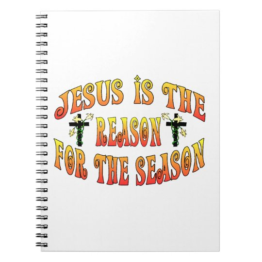Reason For The Season Easter Notebook