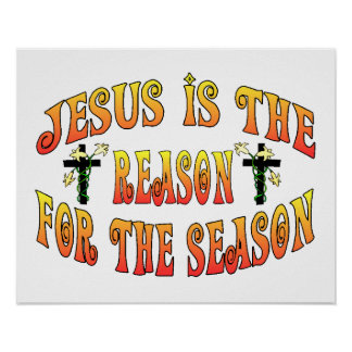 Reason For The Season Easter Poster