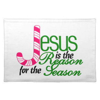 Reason For The Season Cloth Placemat