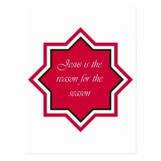Reason For the Season Postcard