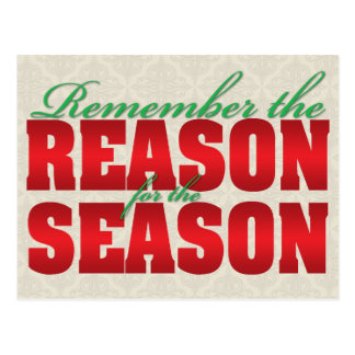 Reason for the Season Winter Solstice postcard
