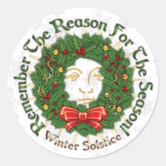 Reason For The Season - Winter Solstice - Sticker