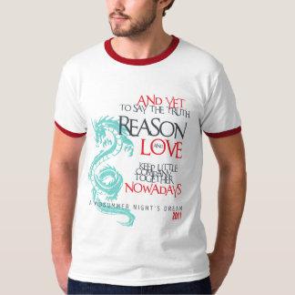 """""""Reason & Love"""" Midsummer Night's Dream T-Shirt"""