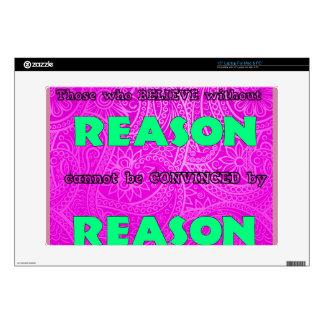 """Reason Skin For 15"""" Laptop"""