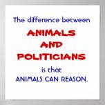 Reasonable animals posters