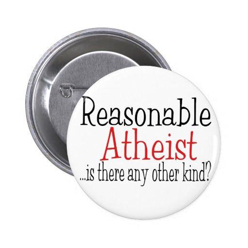Reasonable Atheist 2 Inch Round Button