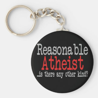 Reasonable Atheist Basic Round Button Keychain