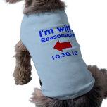 Reasonable Dog Left Doggie Tee