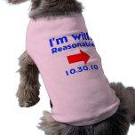 Reasonable Dog Right Pet Tee Shirt