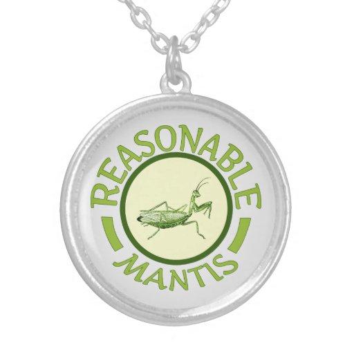Reasonable Mantis Pendant Necklace