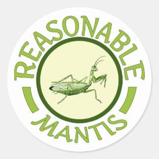 Reasonable Mantis Stickers