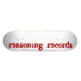 reasoning records sk8 skateboard