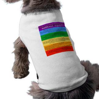 Reasons Dog Tee Shirt