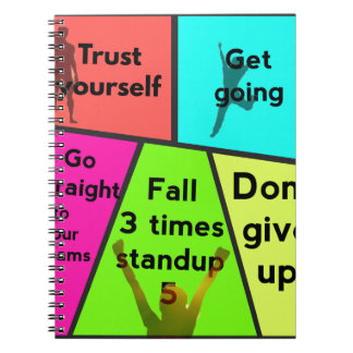 Reasons for suceeding in life notebook