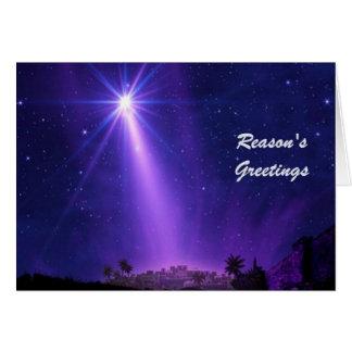 Reason's Greetings Card