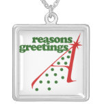 Reasons Greetings Personalized Necklace